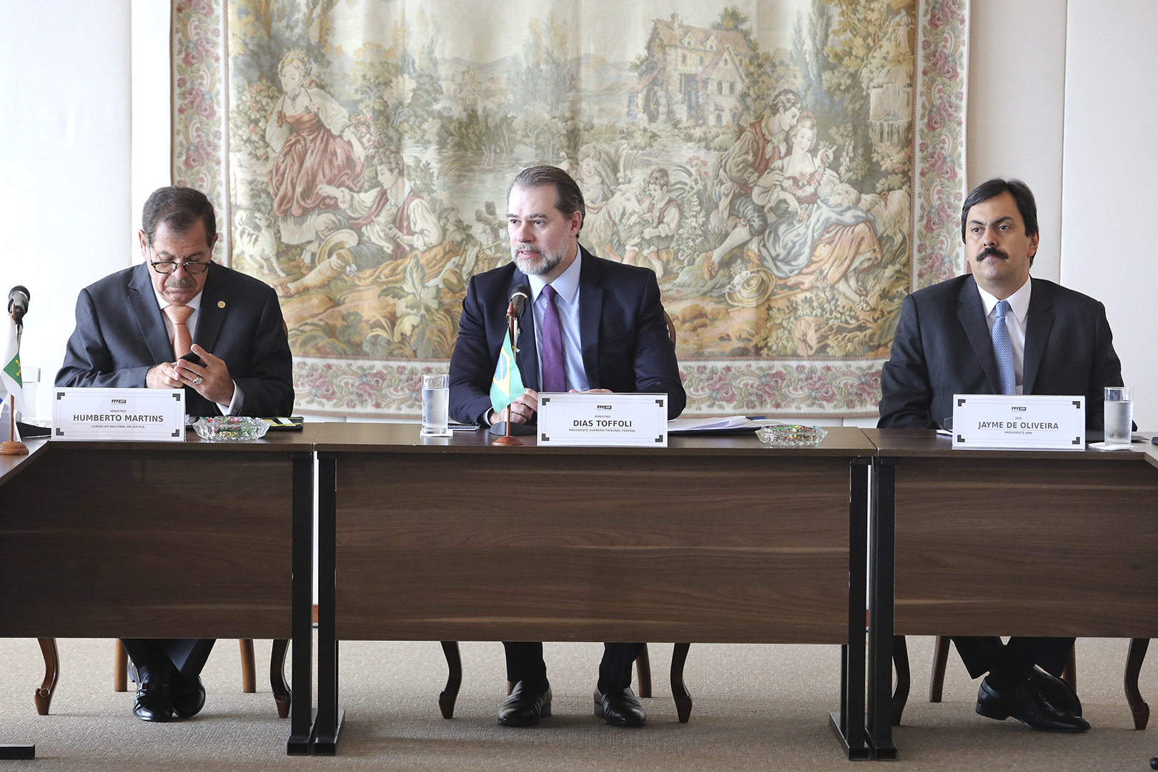 TJSP participa de reunião com o presidente do STF e CNJ