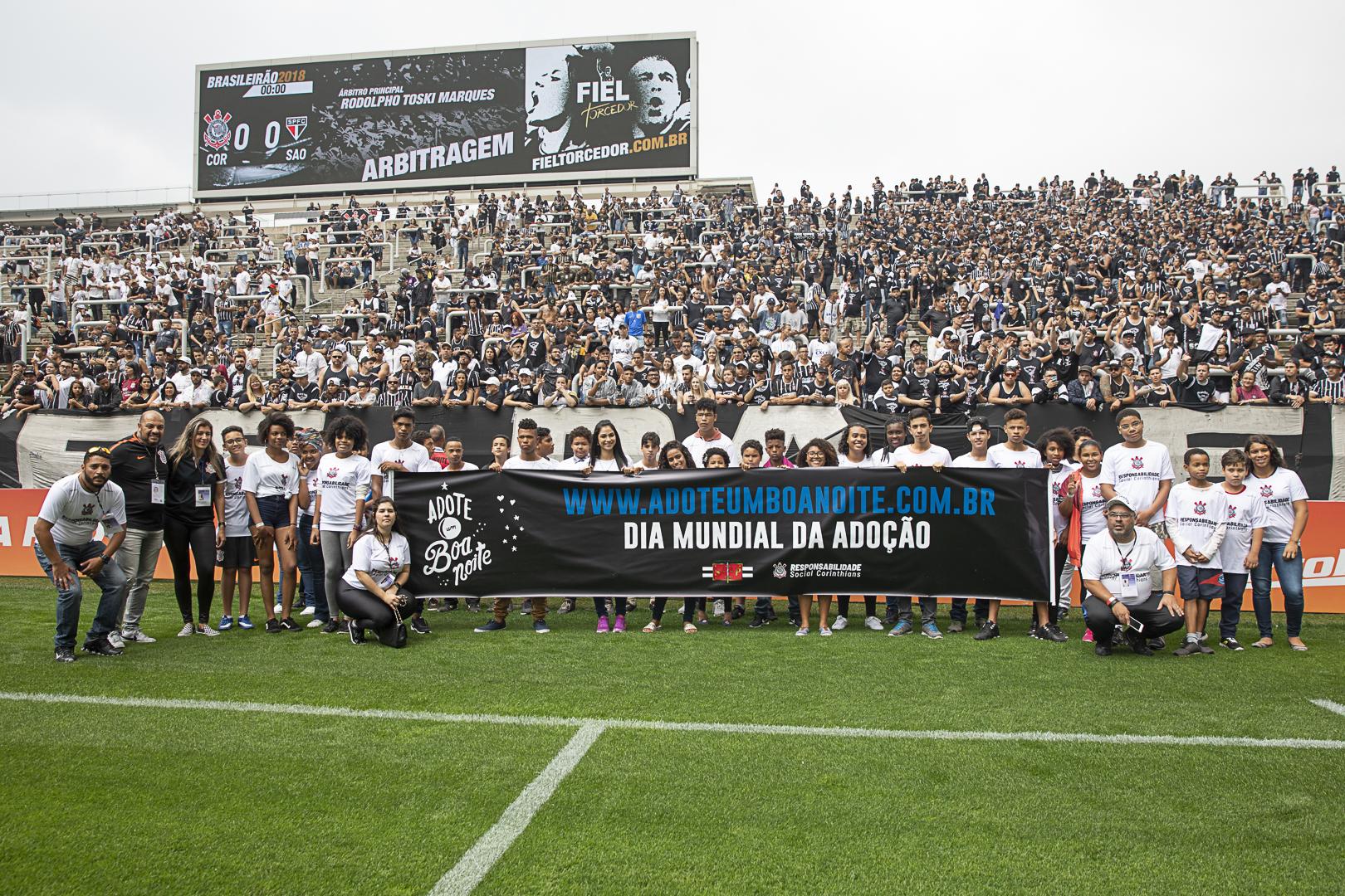 Corinthians apoia projeto Adote um Boa-Noite