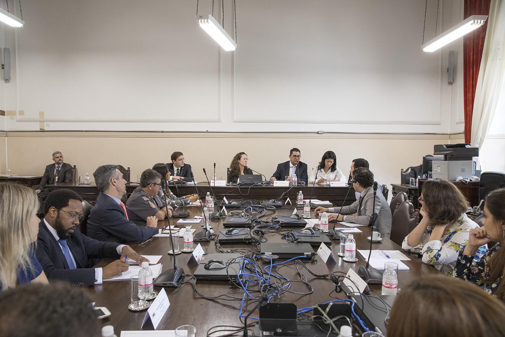 Reunião do Gaorp discute ocupação em Itaquaquecetuba