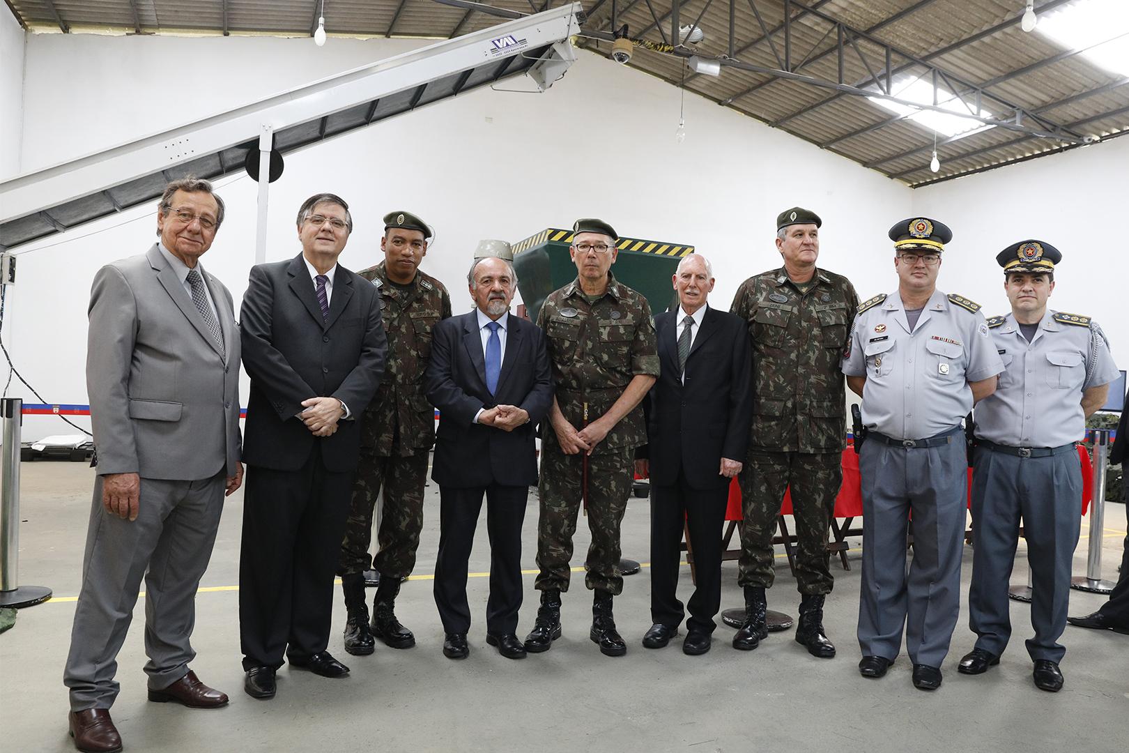 TJSP participa de solenidade de destruição da milionésima arma pelo Exército Brasileiro