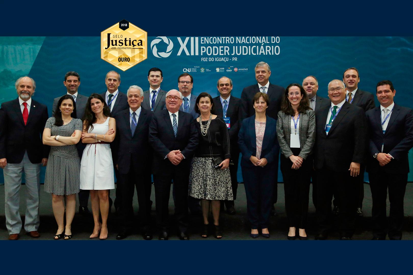 Judiciário paulista participa do XII Encontro Nacional do Poder Judiciário no Paraná
