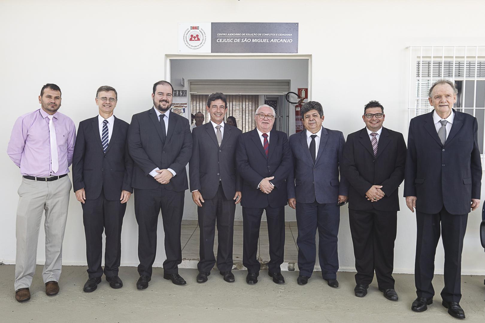 São Miguel Arcanjo recebe a visita do presidente do TJSP