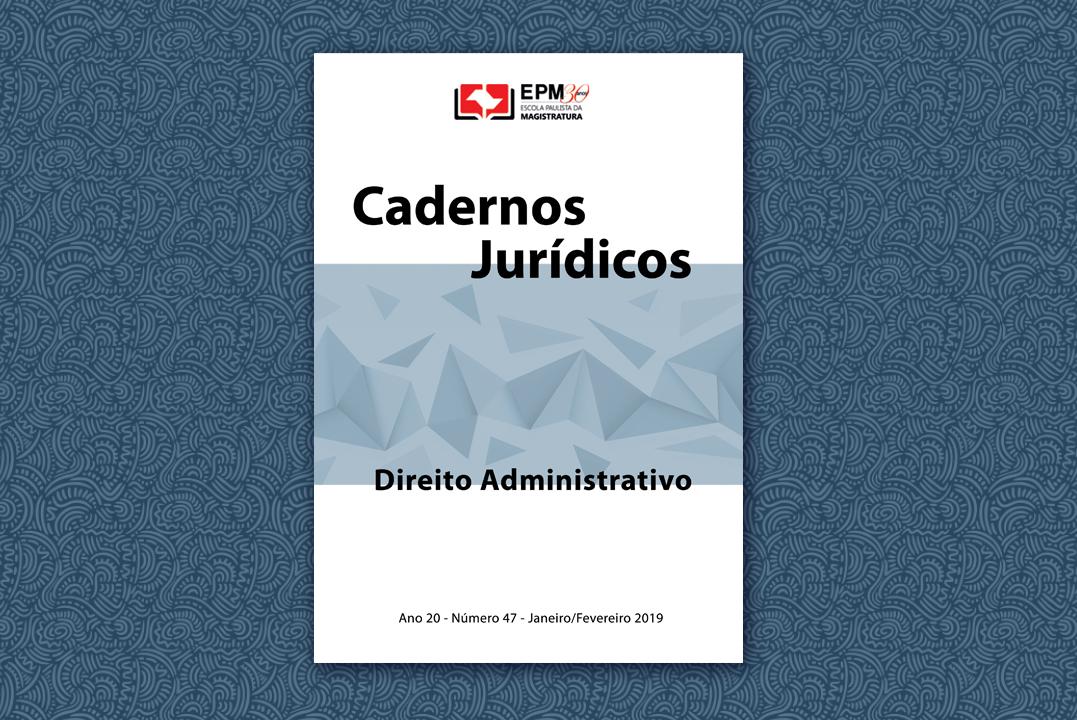 EPM lança edição dos Cadernos Jurídicos sobre Direito Administrativo