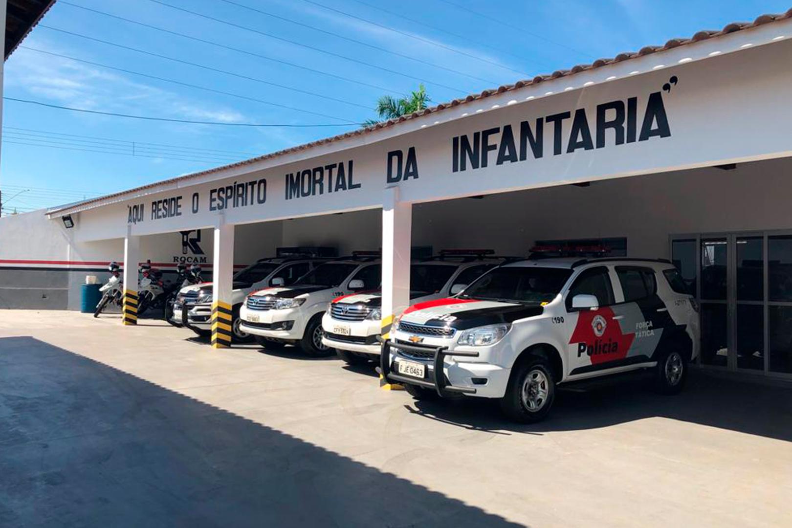 Judiciário de Jaú destina prestações pecuniárias para a sede da Força Tática, Canil e Rocam