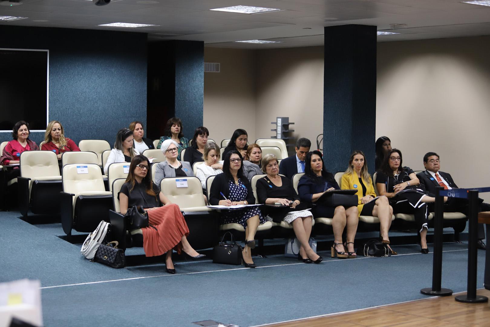 Magistradas do TJSP participam de debates sobre o Poder Judiciário nacional