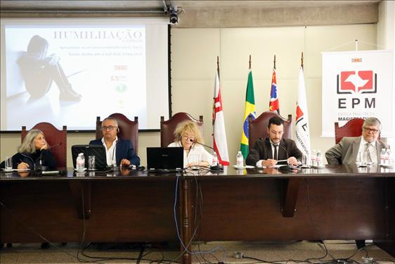 EPM, CIJ e Ibdcria-ABMP promovem o encontro 'Humilhação e infância'