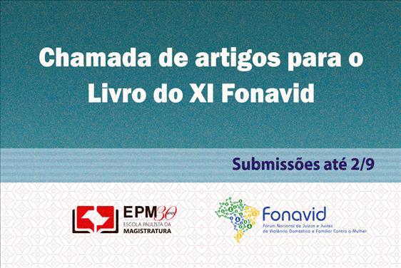 EPM abre período de seleção de artigos para o livro do XI Fonavid