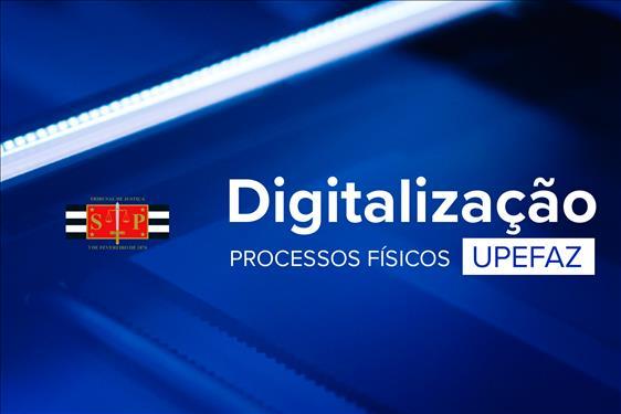 Upefaz inicia digitalização de processos físicos
