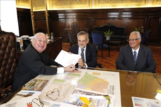 Reitor da Universidade Europeia é recebido no Judiciário paulista