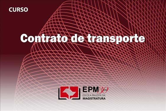 Contratos de transporte serão estudados em curso da EPM