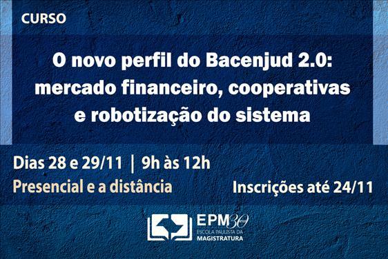 EPM realizará curso sobre o Bacenjud 2.0