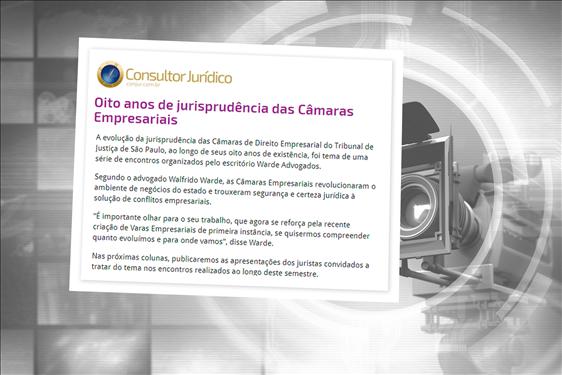 TJ na Mídia: Jurisprudência das Câmaras Reservadas de Direito Empresarial