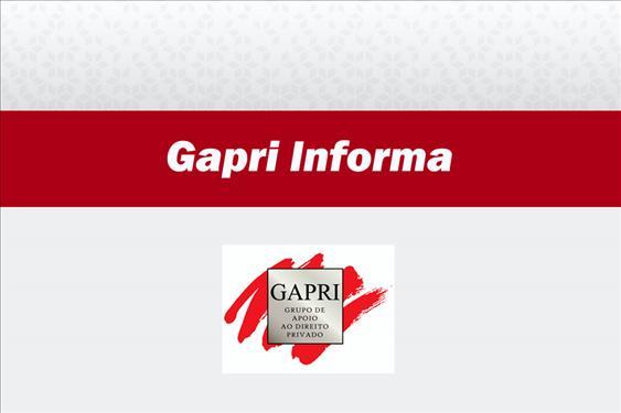 Seção de Direito Privado divulga novas edições do 'Gapri Informa'