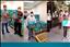 Fórum criminal distribui cestas básicas aos funcionários terceirizados