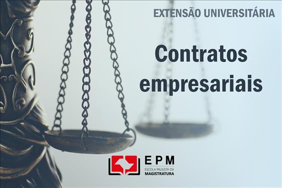 EPM realizará o curso de extensão universitária 'Contratos empresariais'