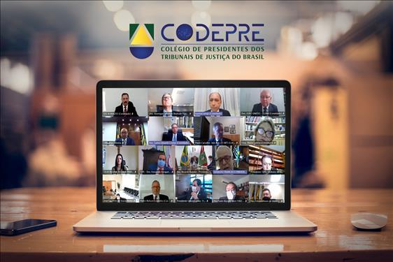 Novos presidentes de Tribunais de Justiça são recepcionados pelo Codepre