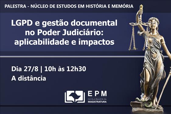 EPM abre inscrições para palestra extra do Núcleo de Estudos em História e Memória