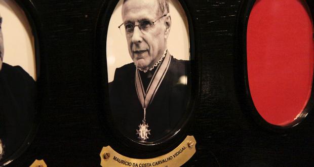 Inaugurado no TJSP retrato do ex-corregedor Maurício Vidigal