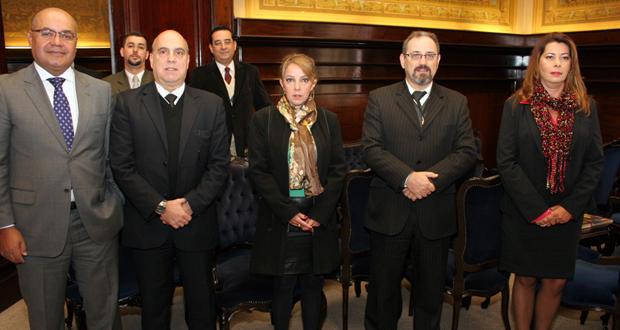Comissão de Arquivos e Memória Bibliográfica entrega ao TJSP documentos da apuração das mortes de MMDC