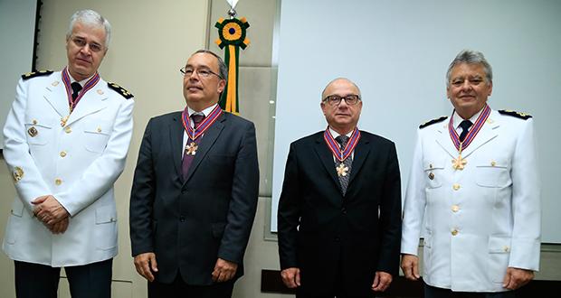 Justiça Militar homenageia desembargadores do TJSP