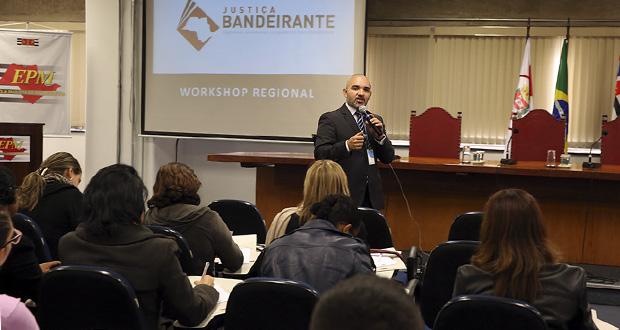 Presidente prestigia evento do projeto 'Justiça Bandeirante'