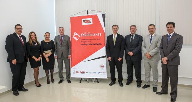 10ª RAJ recebe projeto Justiça Bandeirante