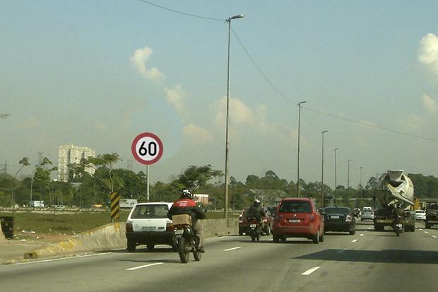 TJSP determina suspensão do aumento de velocidade nas marginais