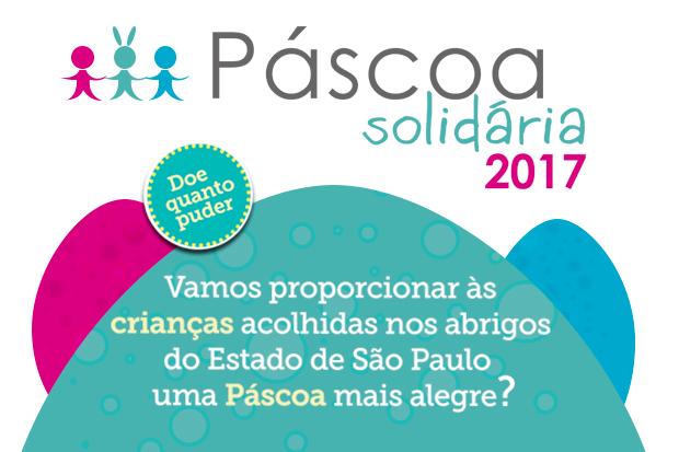 """TJSP lança a campanha """"Páscoa Solidária 2017"""""""
