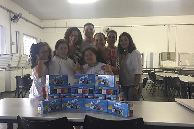 Sucesso total na campanha 'Páscoa Solidária 2017'