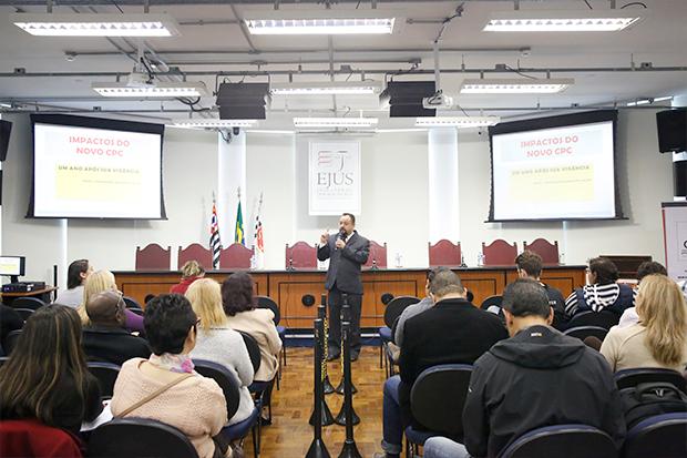 Palestra na EJUS debate o novo CPC, um ano após sua vigência