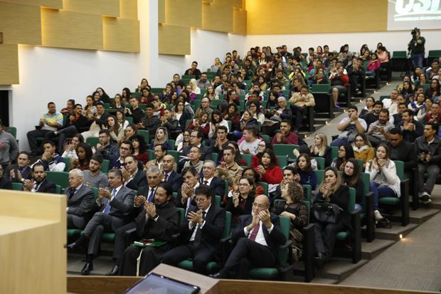 Presidente faz palestra em faculdade de Direito de Bragança Paulista