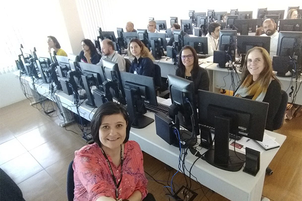 Assistentes judiciários de Sorocaba e região participam de capacitação para uso do SAJ