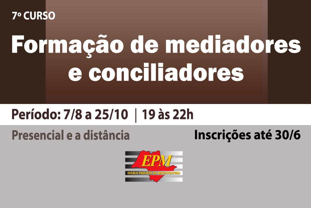 EPM realizará novo curso de formação de mediadores e conciliadores