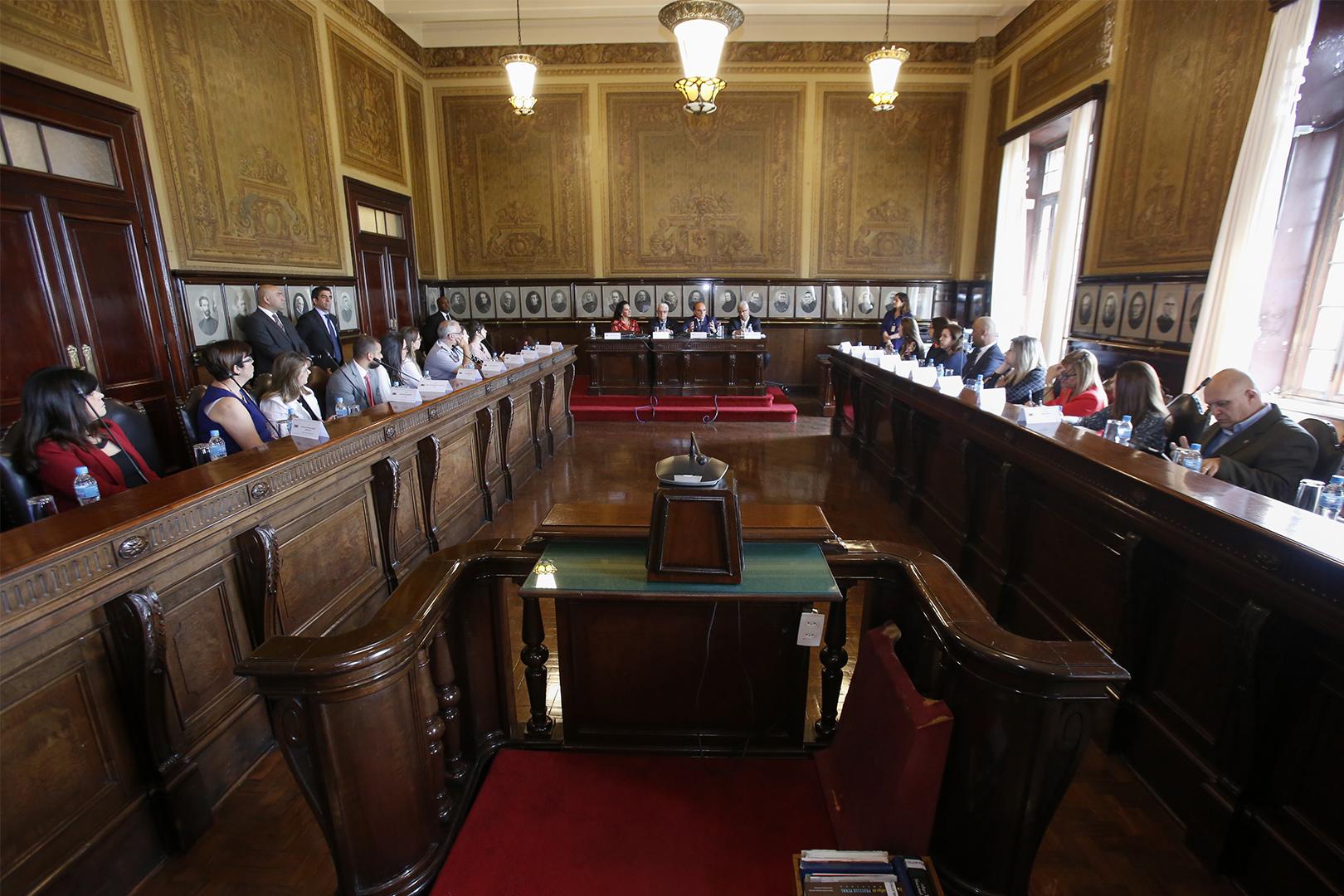 Tribunal realiza debate interinstitucional sobre abuso sexual nos transportes