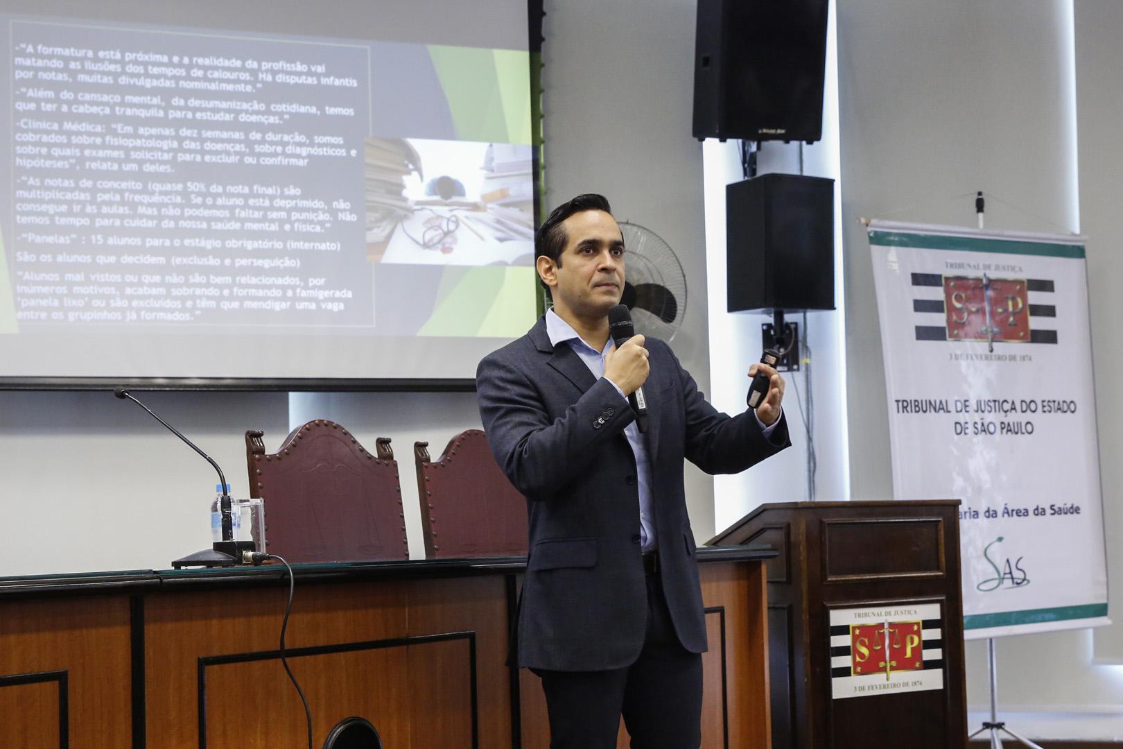 TJSP promove palestra sobre prevenção do suicídio