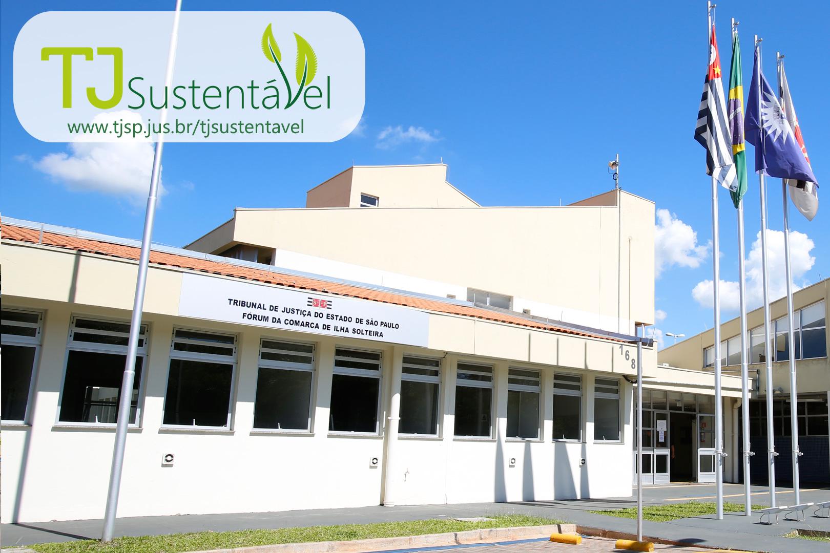 Ilha Solteira permanece na liderança do TJ Sustentável
