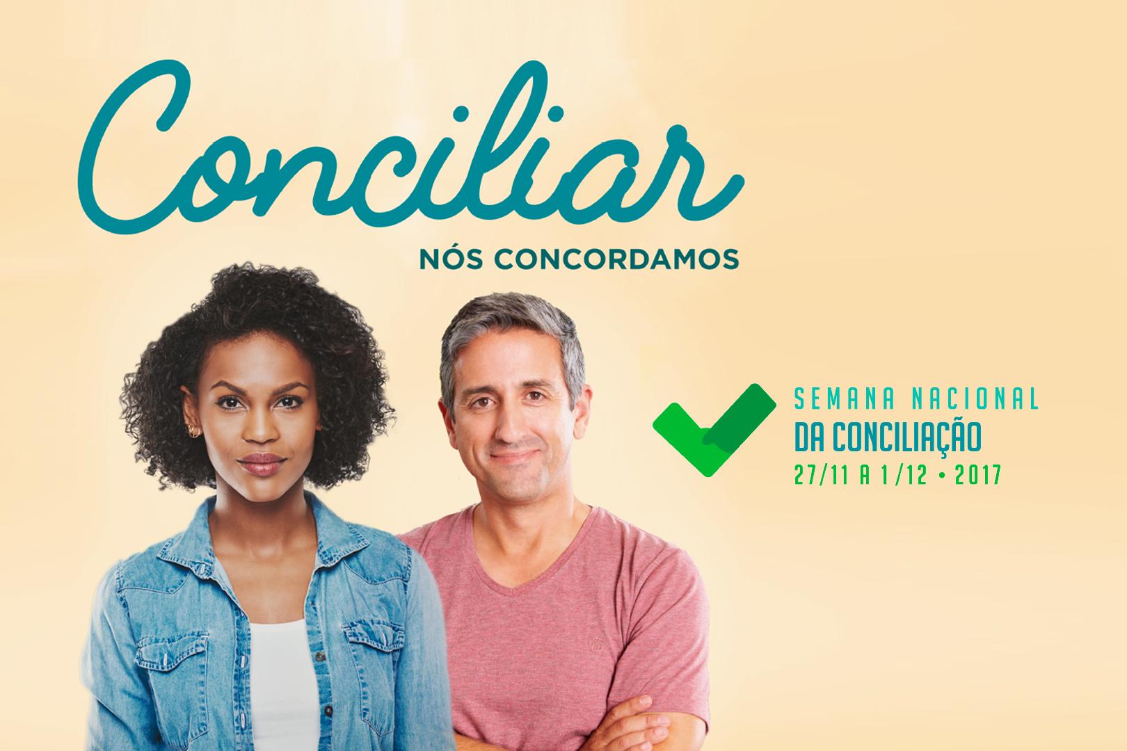 Participe da Semana Nacional da Conciliação