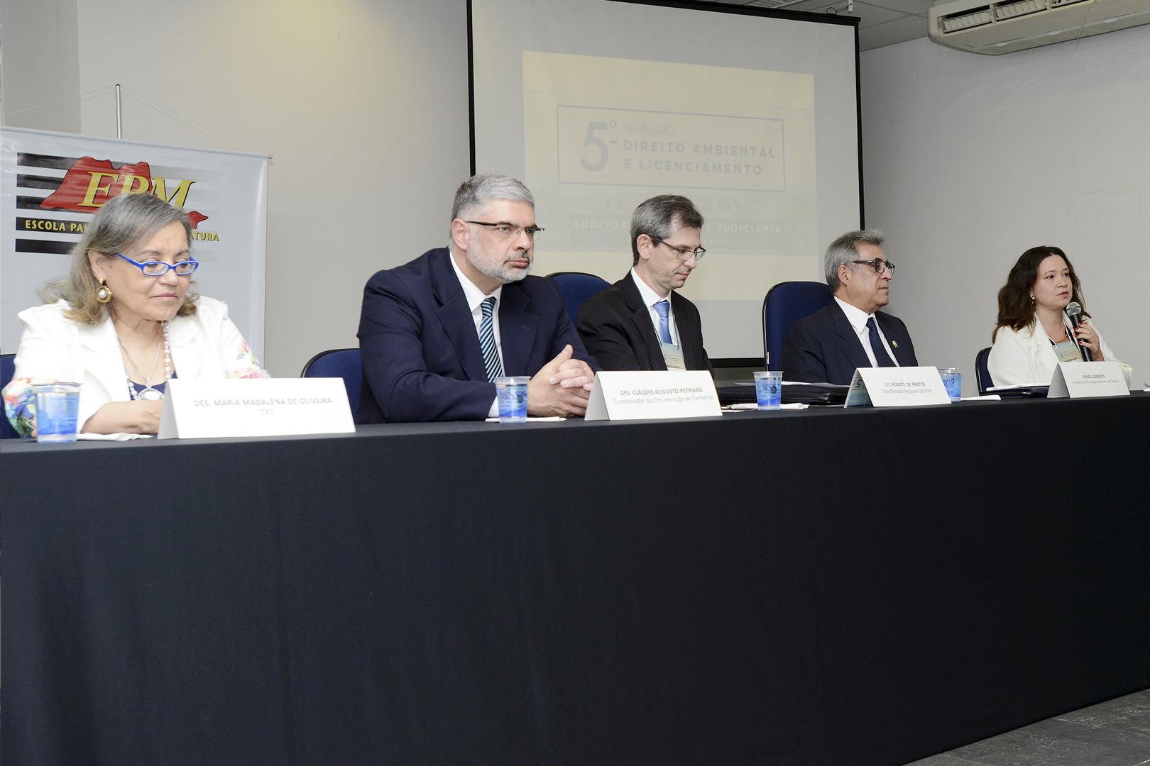 Núcleo Regional de Campinas promove quinta edição do Seminário de Direito Ambiental e Licenciamento'