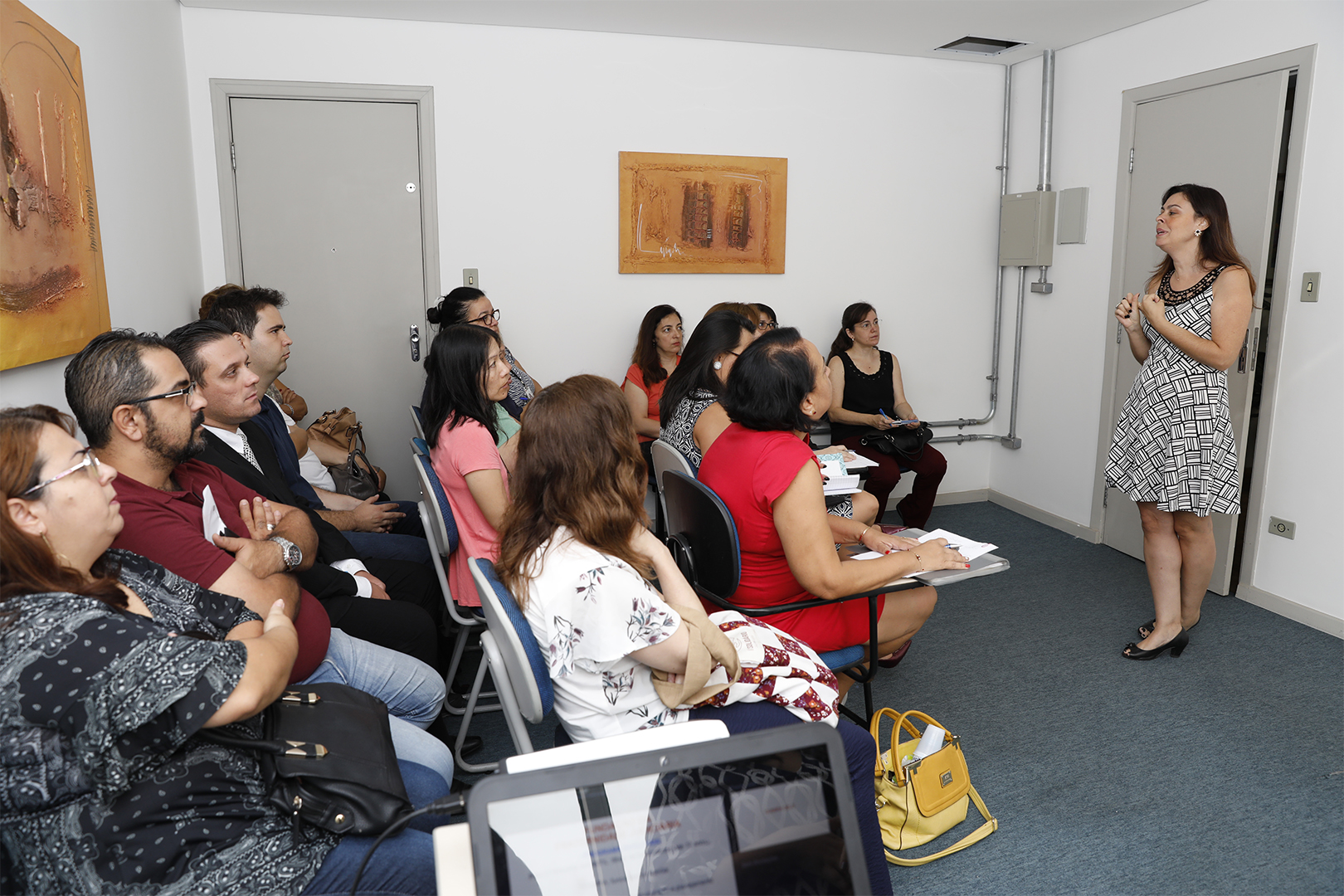 Fundação da Fraternidade Judiciária promove workshop para servidores
