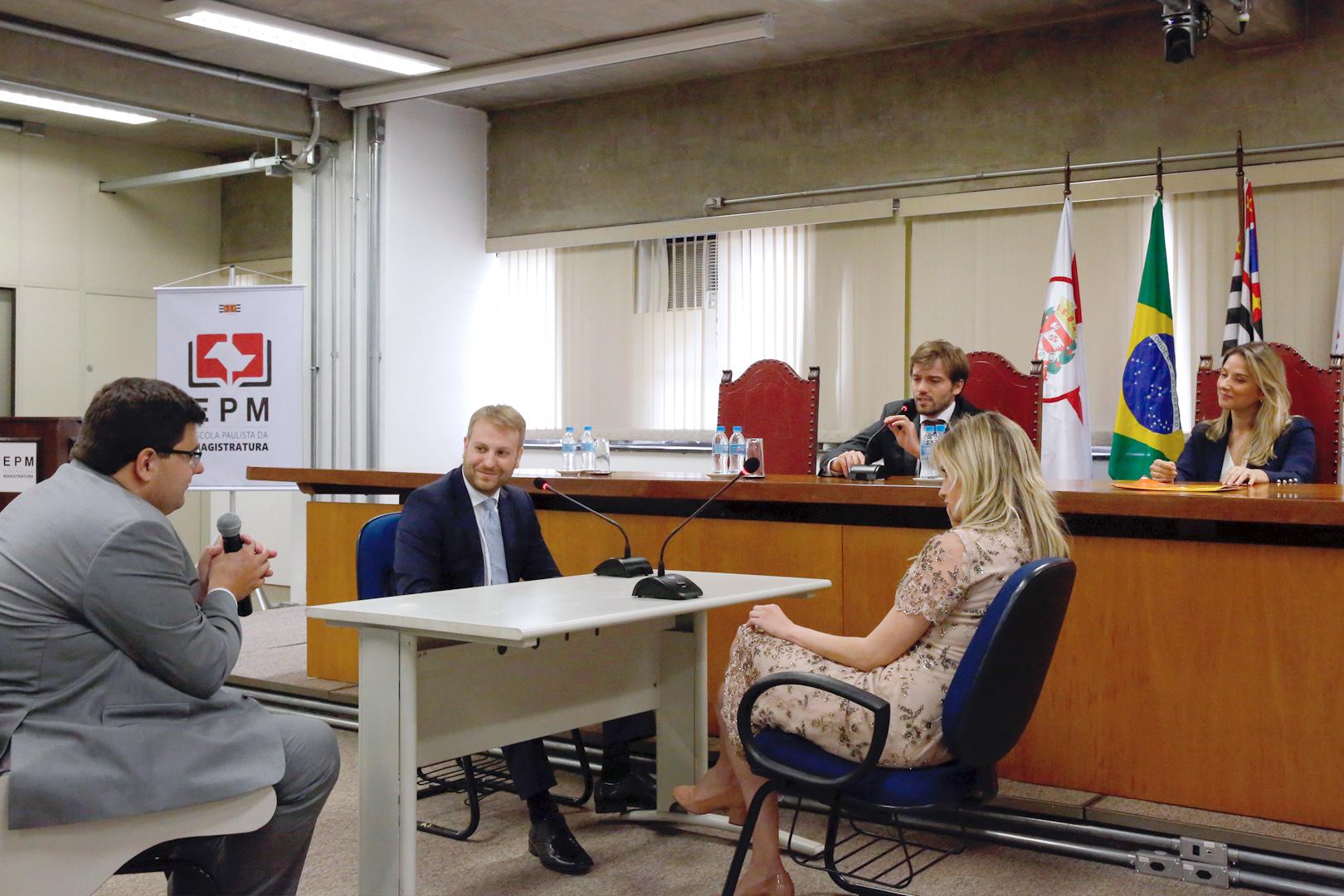 EPM inicia curso de vitaliciamento para os juízes do 186º Concurso de Ingresso