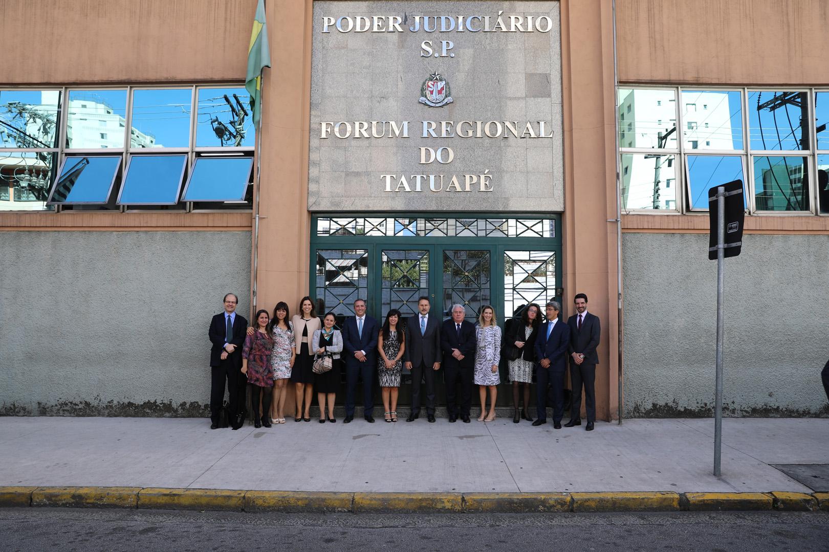 Judiciário em ação: FR do Tatuapé recebe a visita do presidente do TJSP