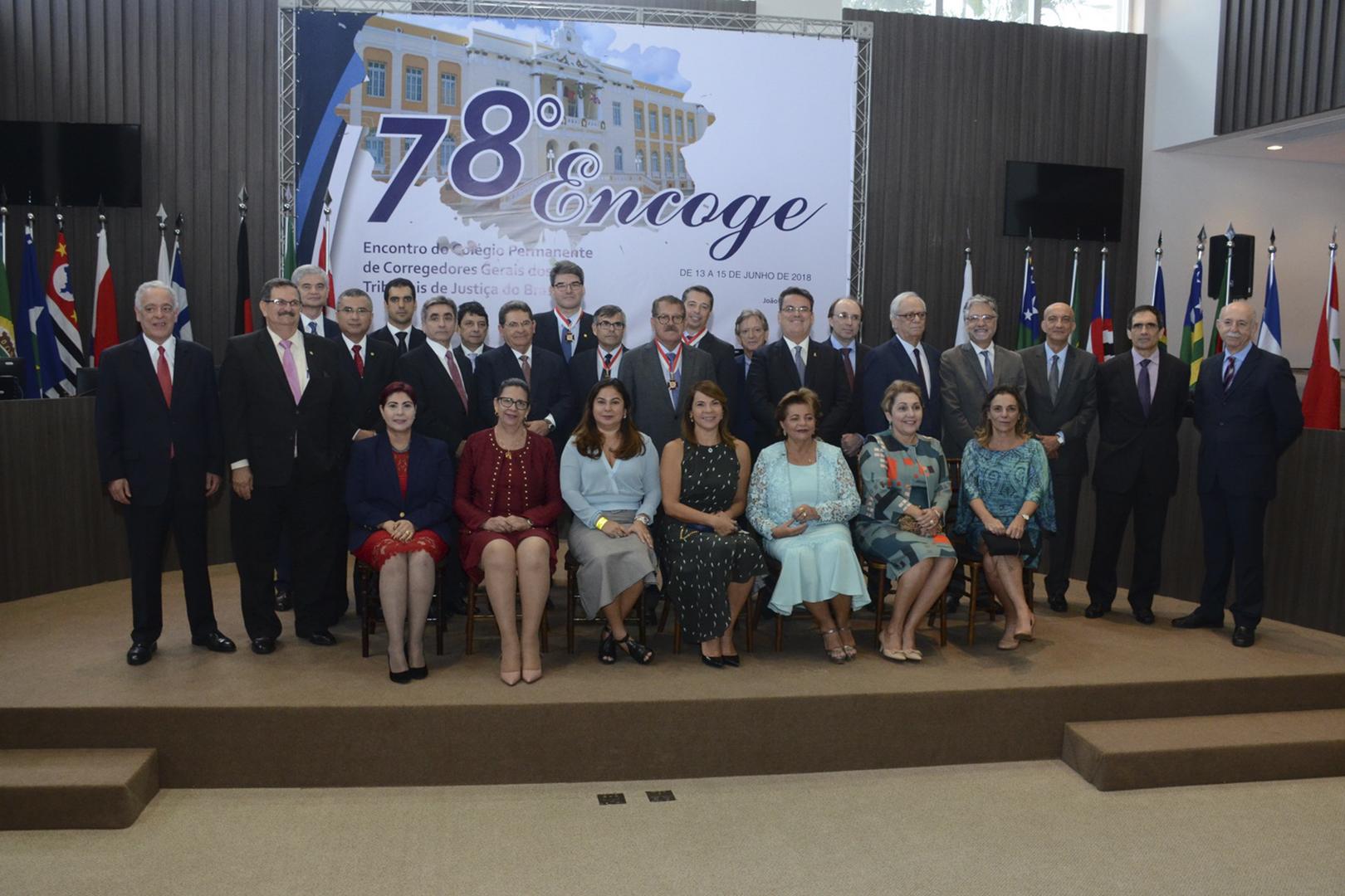 Corregedor-geral da Justiça paulista participa do 78º Encoge