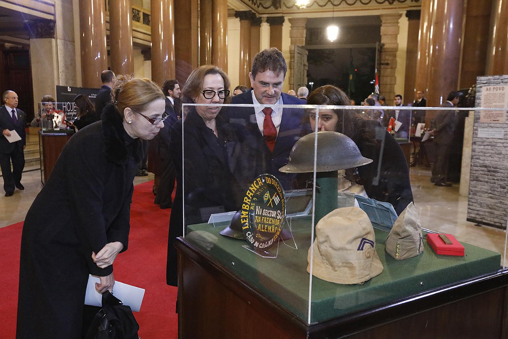 Exposição no Palácio da Justiça marca o 86º aniversário da Revolução Constitucionalista de 1932