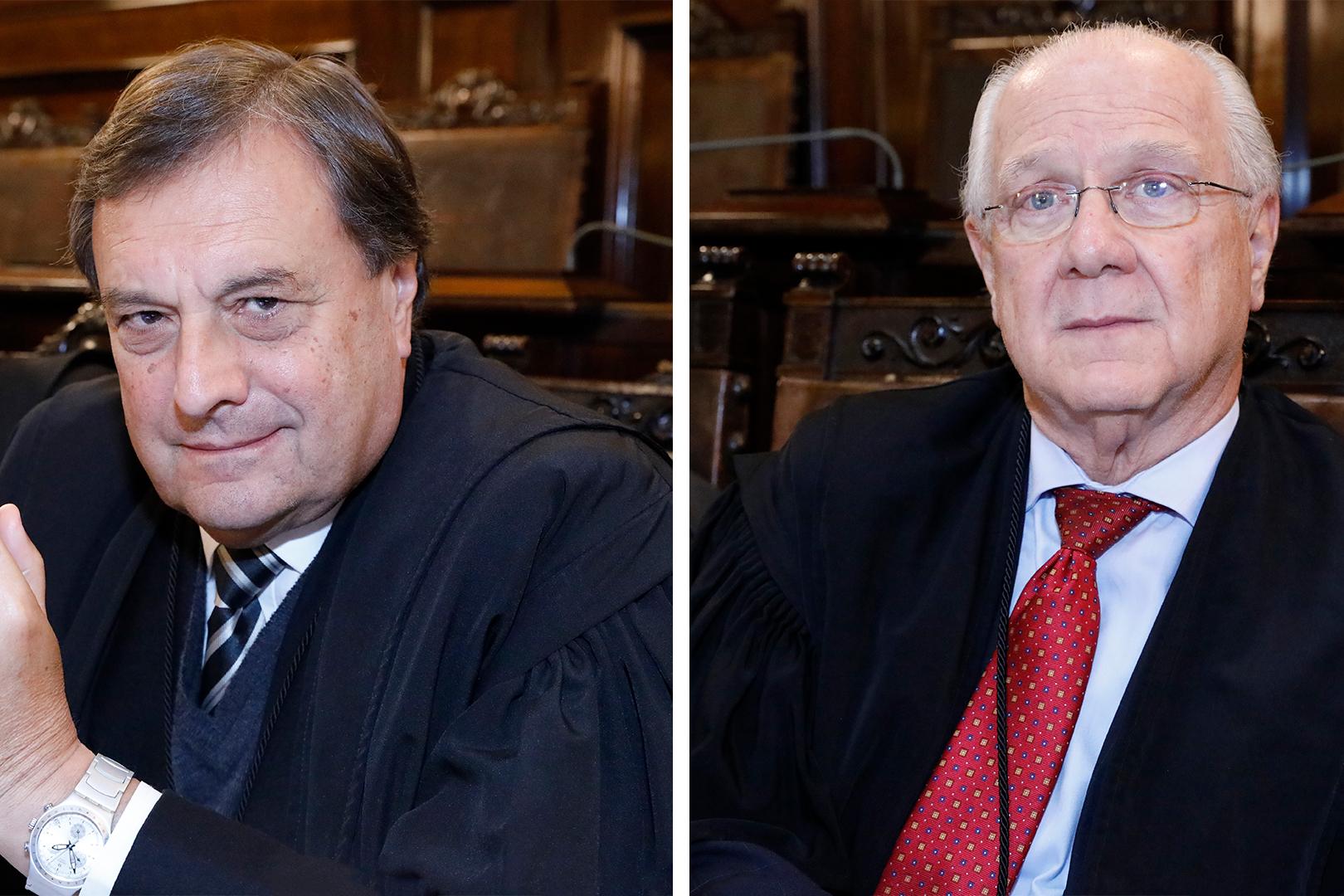 Desembargadores João Negrini Filho e Borelli Thomaz são homenageados no Órgão Especial
