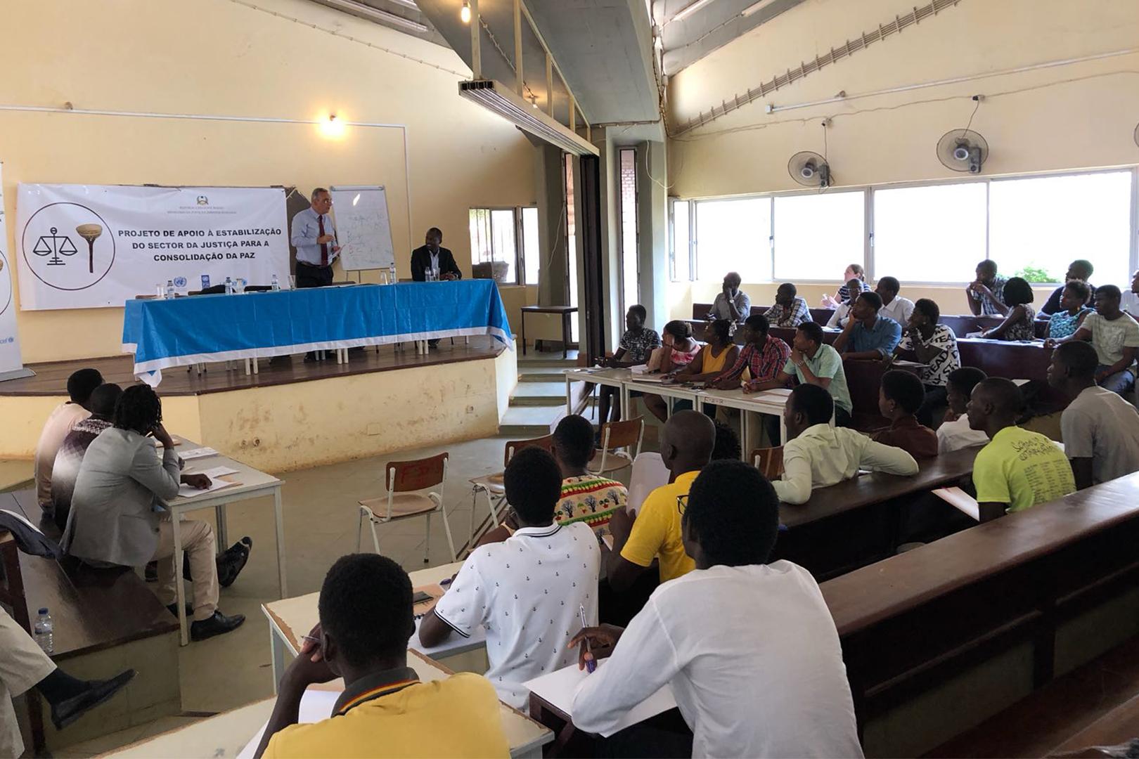 Experiências da Justiça Restaurativa em São Paulo compartilhadas na Guiné-Bissau