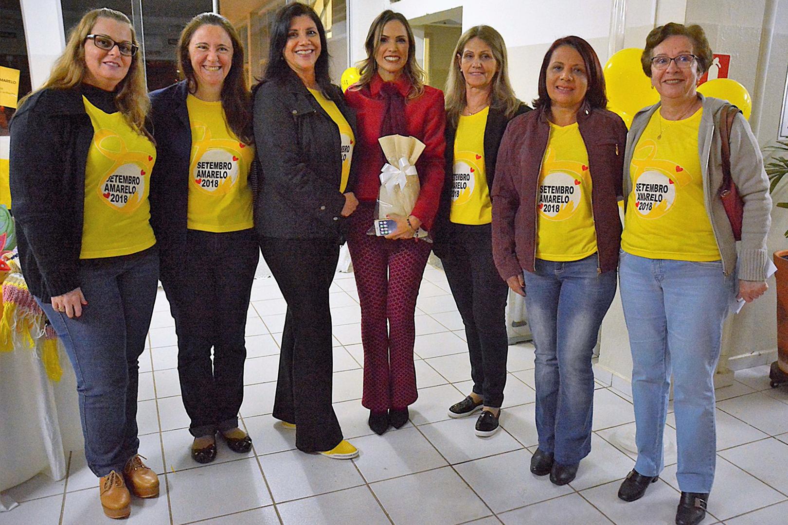 """Judiciário paulista apoia o """"Setembro Amarelo"""" em Adamantina"""