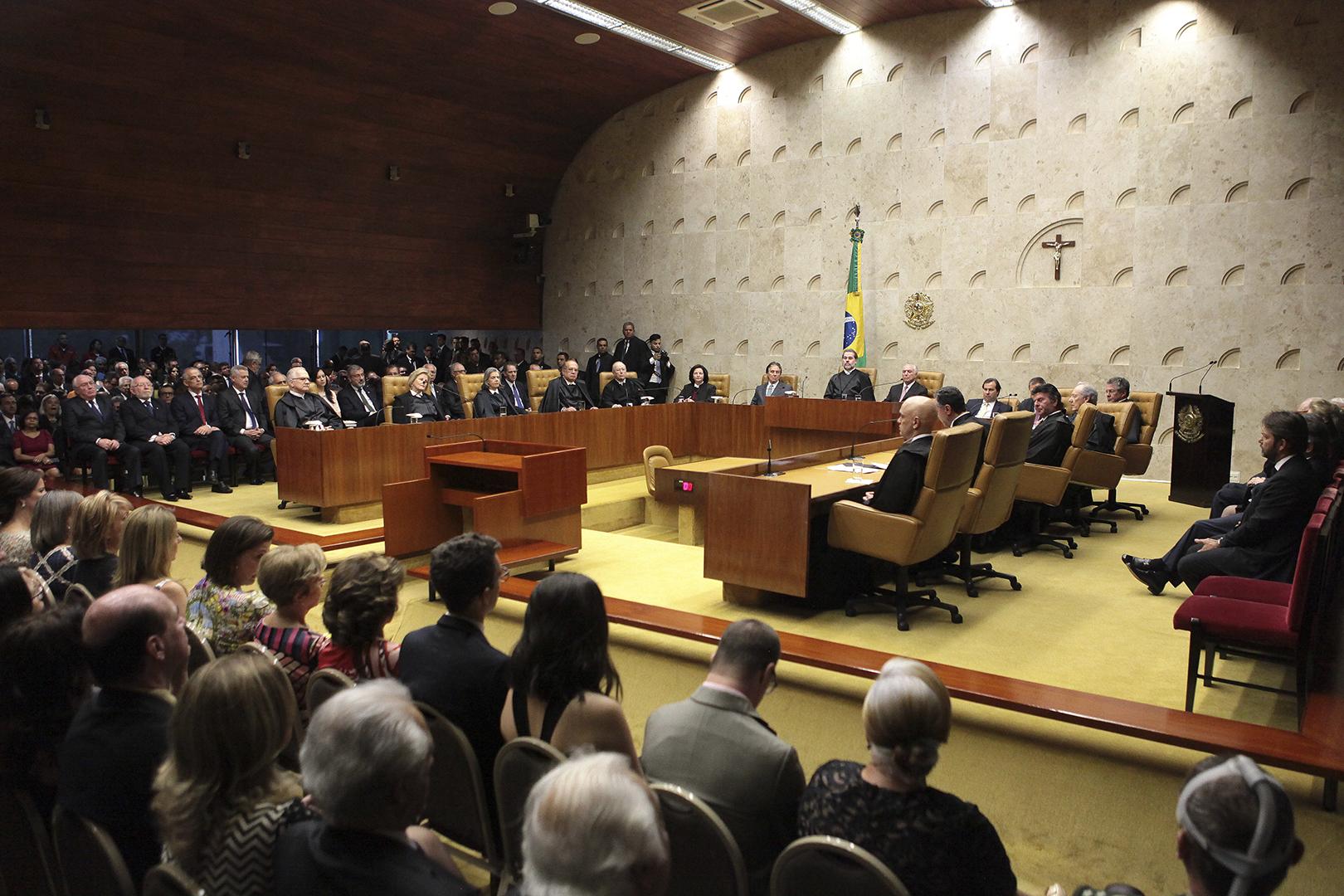 Judiciário paulista prestigia cerimônia de posse no STF