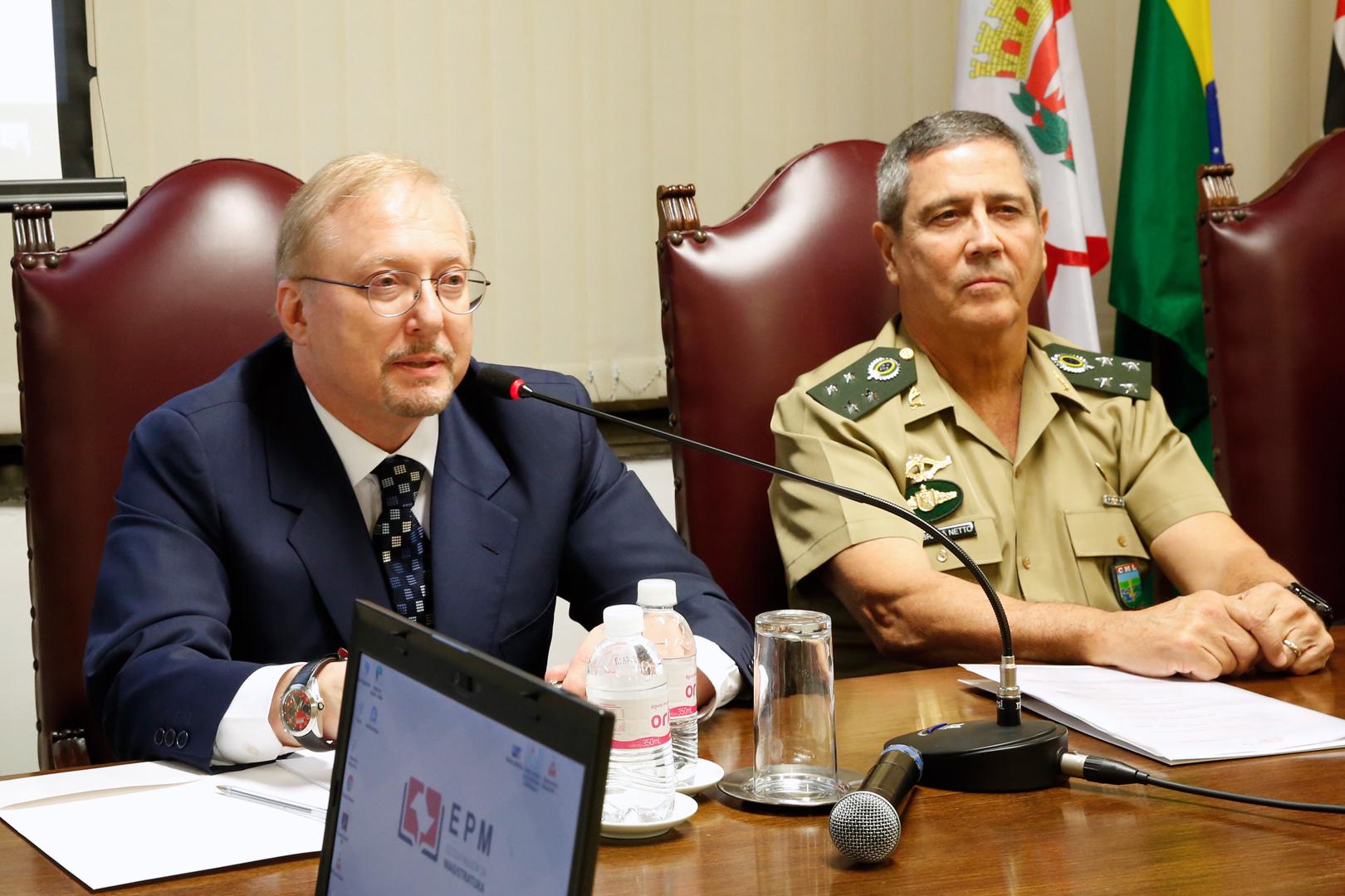 Intervenção Federal no Rio de Janeiro é debatida em palestra na EPM