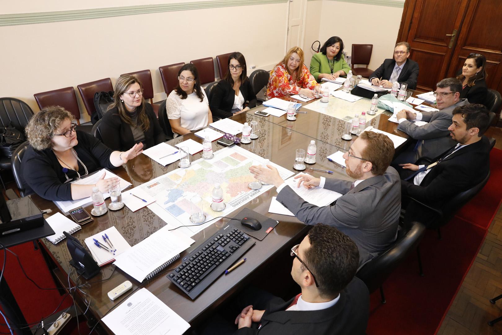 Comitê Gestor de Orçamento e Priorização do 1º Grau se reúne no TJSP