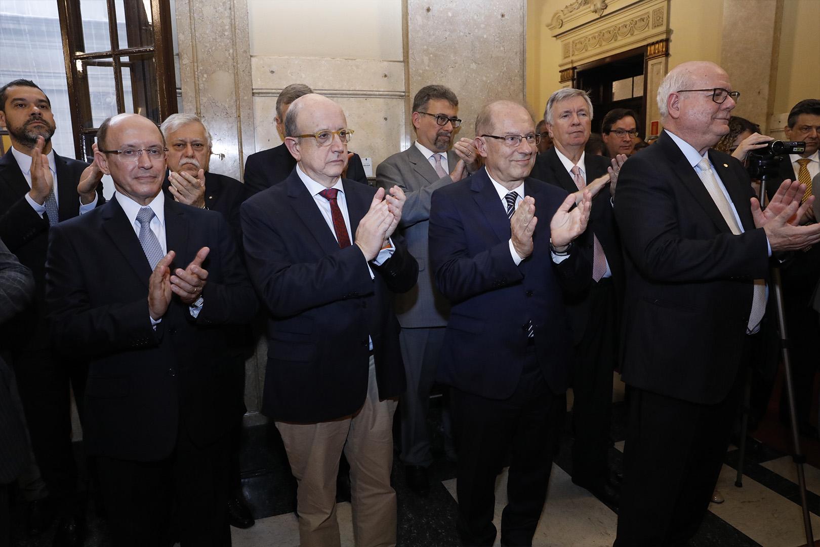 TJSP inaugura retrato de Ademir Benedito na galeria de vice-presidentes
